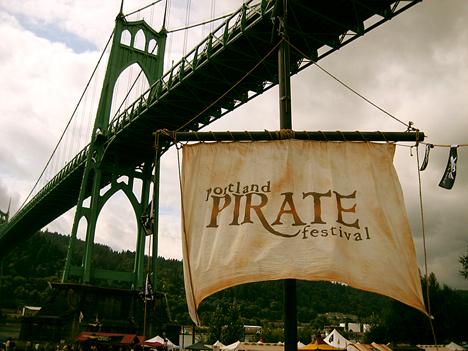 Portland pirate festival